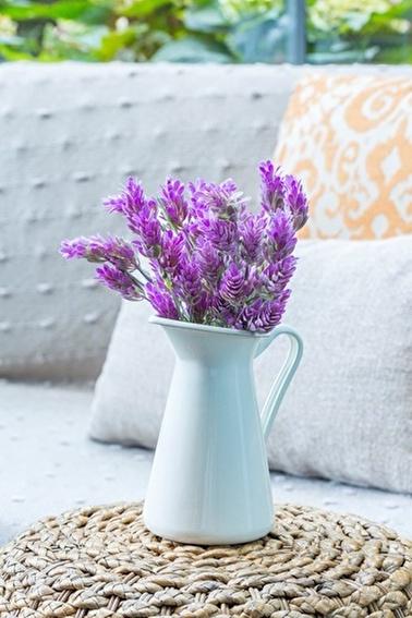 Arma House Pembe Lavandula  Akdeniz Yapay Çiçek Pembe